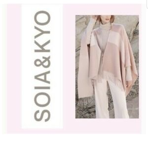 SOIA and KYO Scarf - Cardigan crossover New
